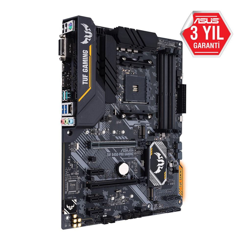 Asus-Tuf-Gaming-B450-Pro-AM4-Ryzen-DDR4-Dvi-Hdmi