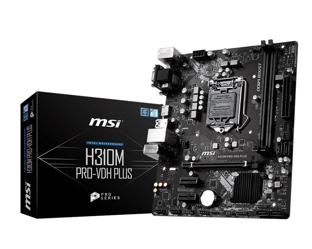 MSI-H310M-Pro-Vdh-Plus-1151-DDR4-Vga-Dvi-D-Hdmi