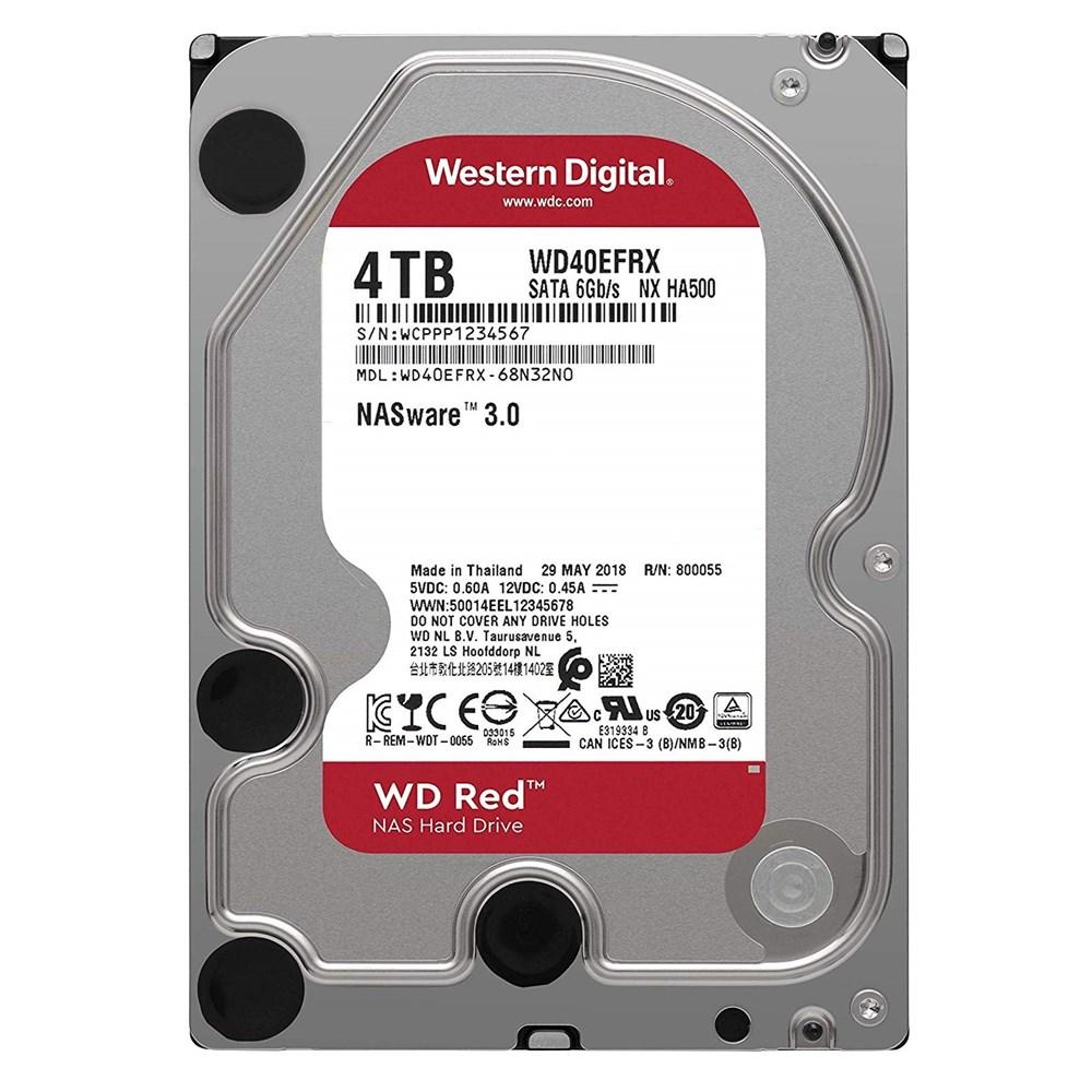 "WD-4TB-Red-3-5""-256MB-5400Rpm-Sata3-WD40EFAX"