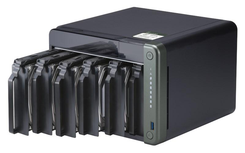 QNAP-TS-653D-4GB-RAM-6-Hdd-Yuvali-Tower-NAS